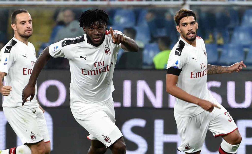 Genoa-Milan, highlights