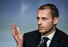 """Razzismo, il presidente dell'Uefa: """"I governi devono impegnarsi di più"""""""