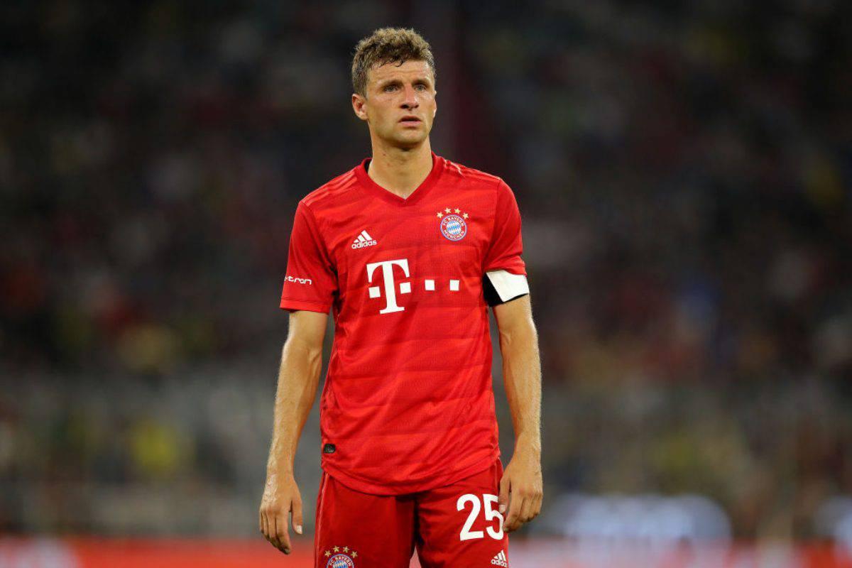 Calciomercato Inter: su Müller il Manchester United non molla