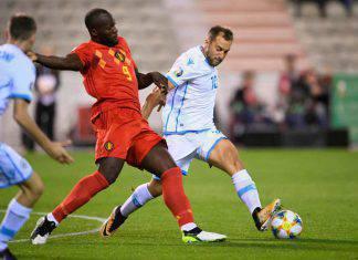 Qualificazioni Euro 2020: doppietta di Elmas, la Macedonia sogna. Il Belgio ai gironi