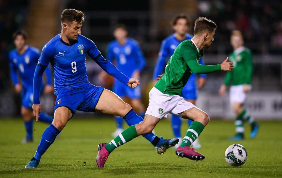 Under 21, Irlanda-Italia: pari scialbo per gli azzurri, kean espulso