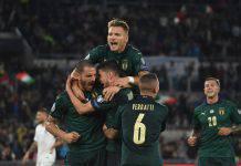 Italia-Grecia 2-0, azzurri qualificati agli Europei 2020 con i gol di Jorginho e Bernardeschi