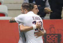 Ligue 1, Nizza-Psg 1-2, Di Maria e Mbappè: i parigini volano. Icardi, assist pregevole
