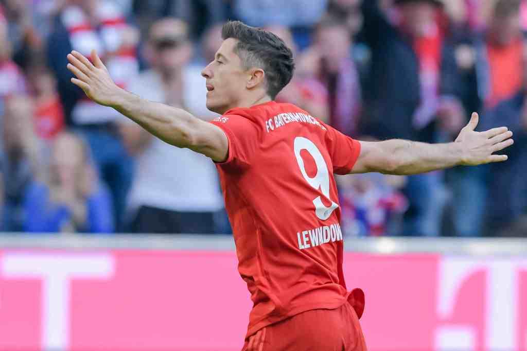 Bundesliga, Lewandowski da record: in gol da nove partite, supera Aubameyang