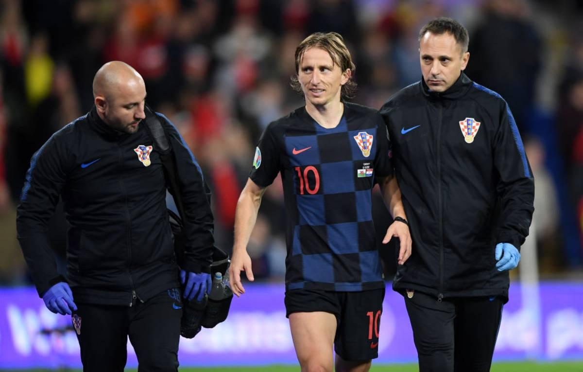 Real Madrid, Zidane perde Bale e Modric infortunati in Galles-Croazia