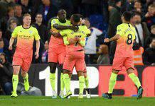 Premier League: Gabriel Jesus fa 50, il Manchester City stende il Crystal Palace