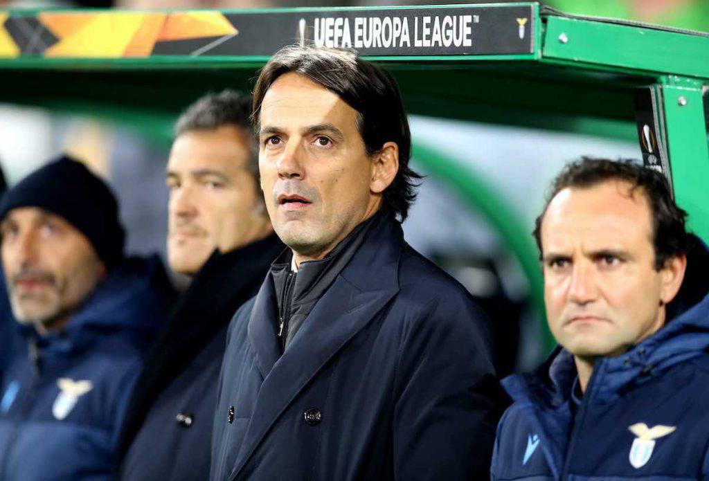 Lazio, Inzaghi nel post gara di Europa League