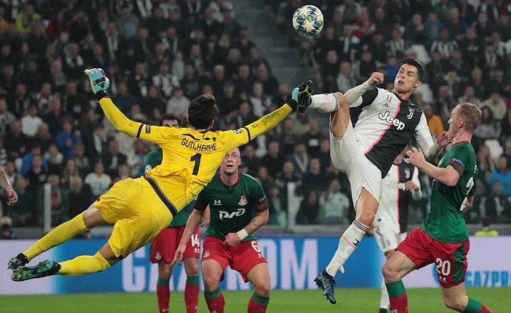 Juventus-Lokomotiv Mosca highlights