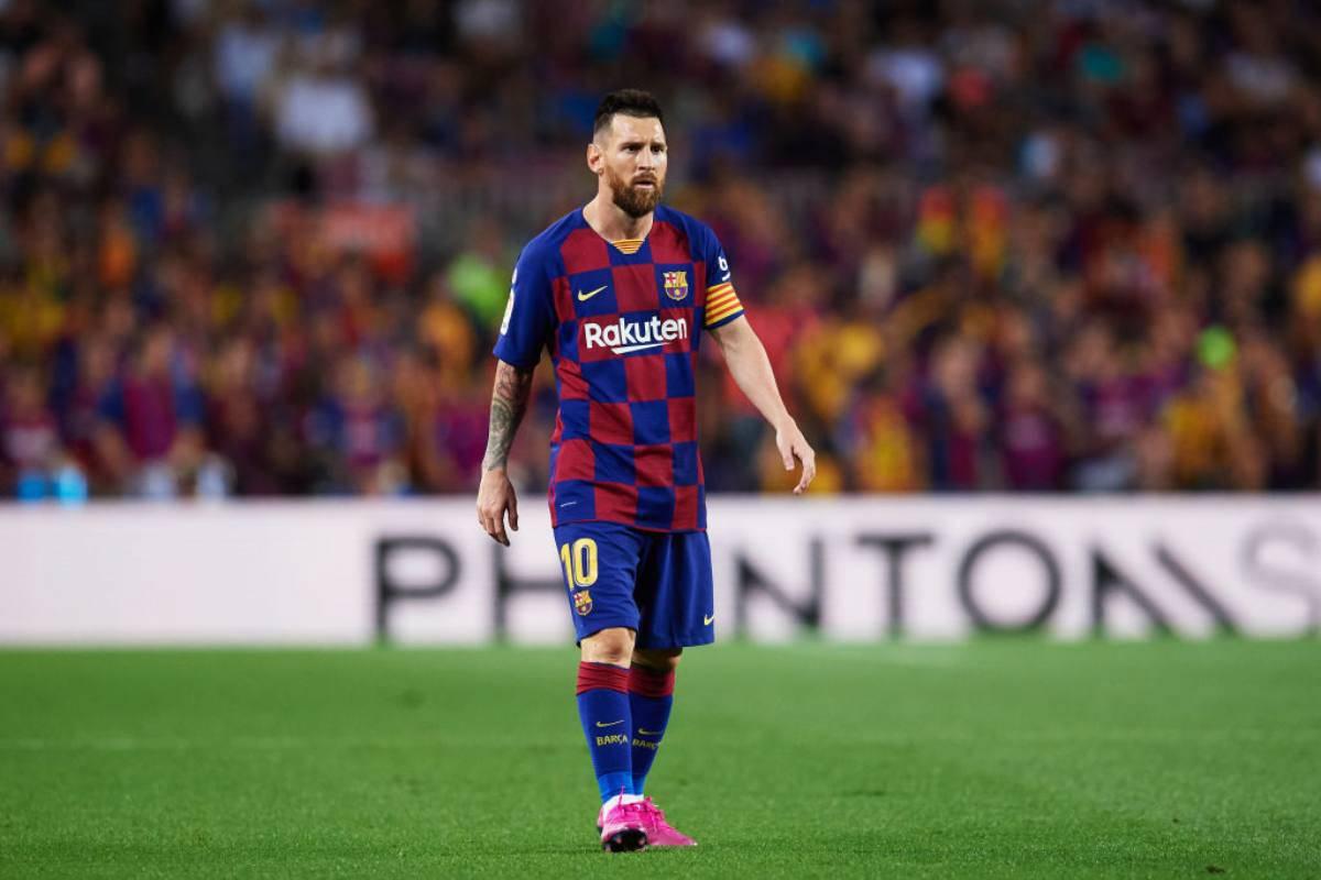 Lionel Messi, in dubbio contro l'Inter
