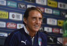 Mancini post gara con Liechtenstein