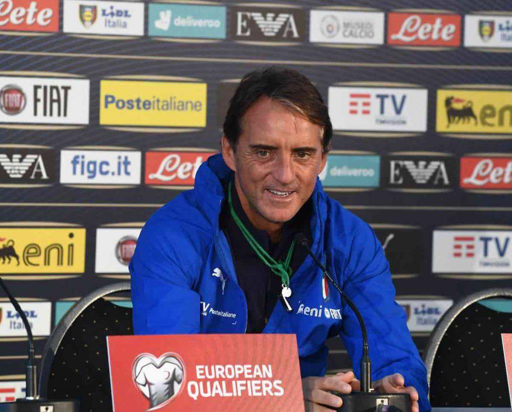 Mancini turn-over per l'Italia
