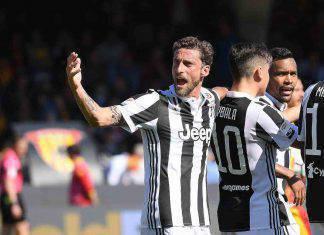 Marchisio, il saluto social della Juventus