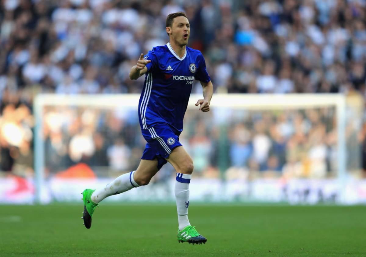 Nemanja Matic allenato da Conte al Chelsea