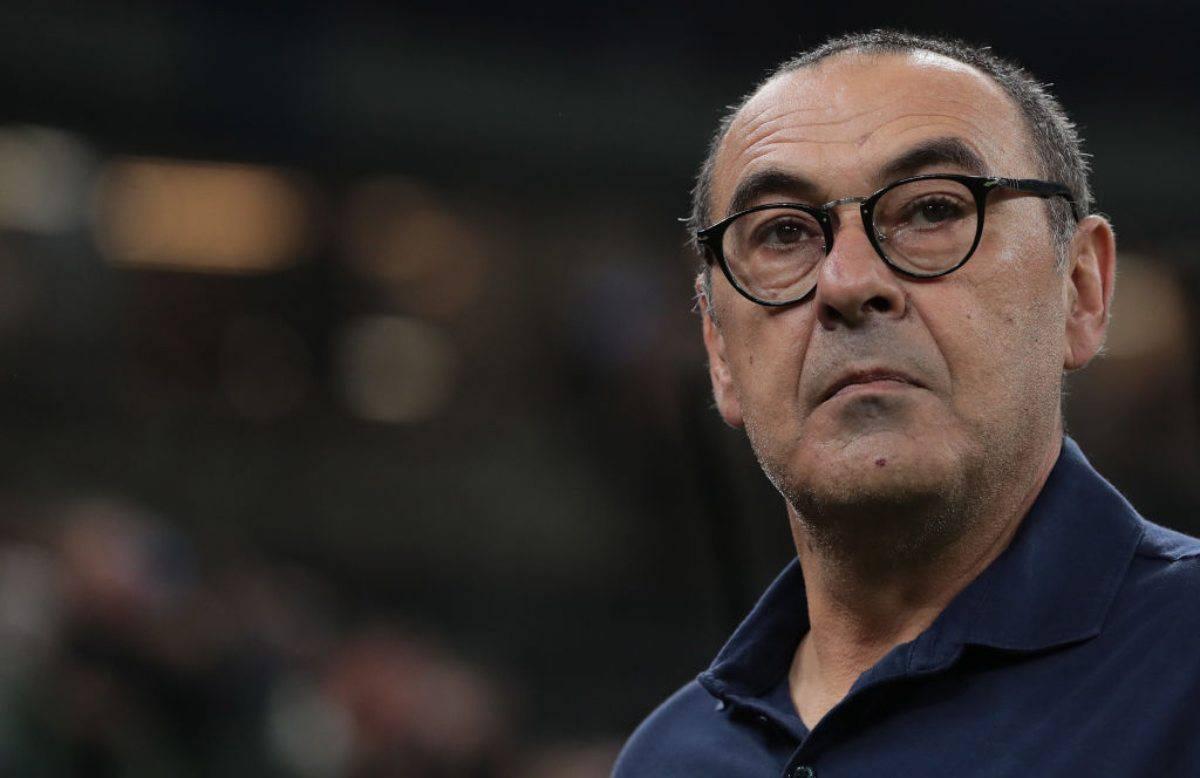 Sarri conferenza Juventus-Bologna