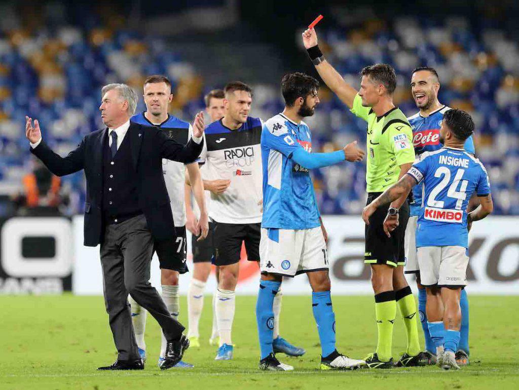 Napoli-Atalanta finisce in Parlamento
