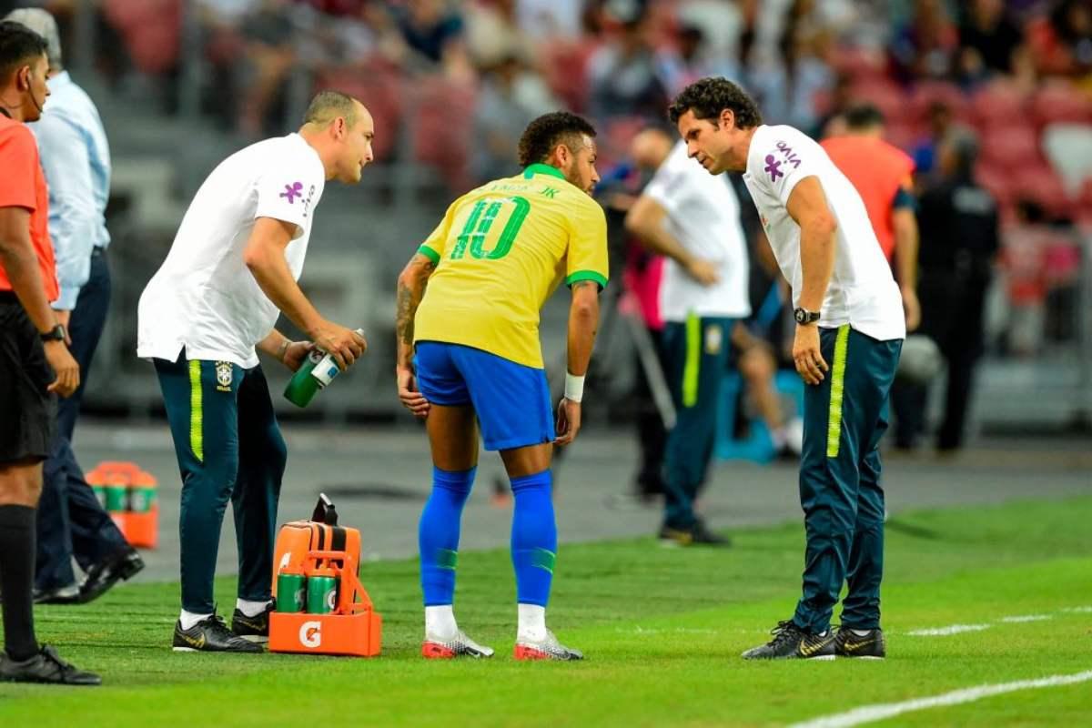 Neymar Infortunio