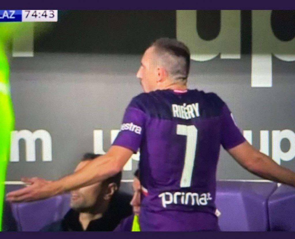 Ribery incredulo per la sostituzione