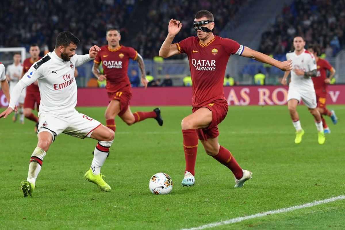 Pagelle Roma Milan Gazzetta dello Sport
