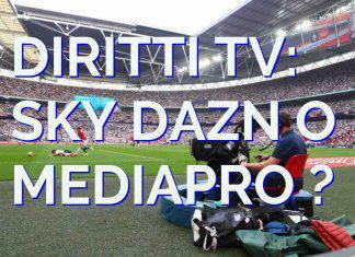 SKY DAZN MEDIAPRO DIRITTI TV