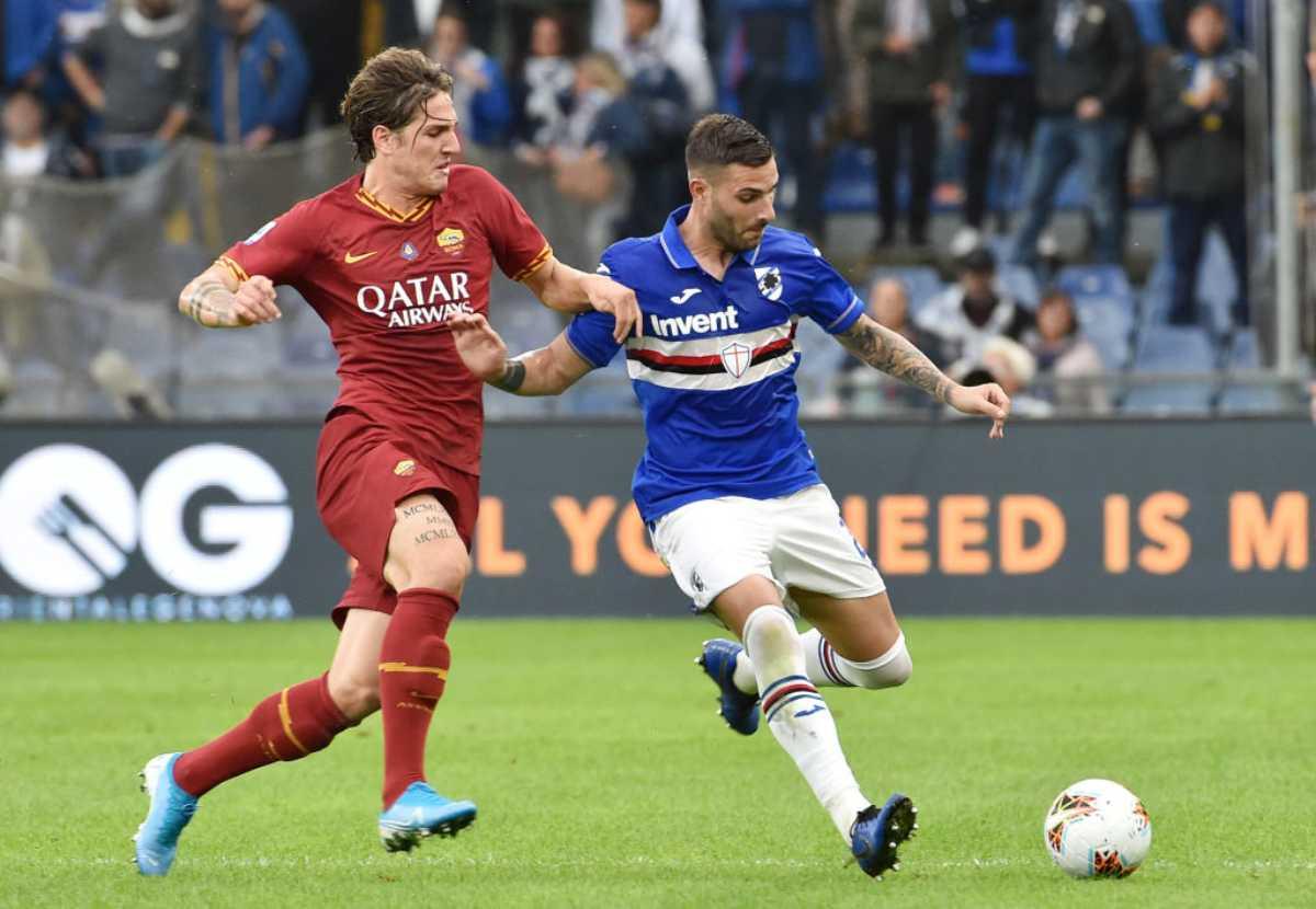 Sampdoria-Roma highlights