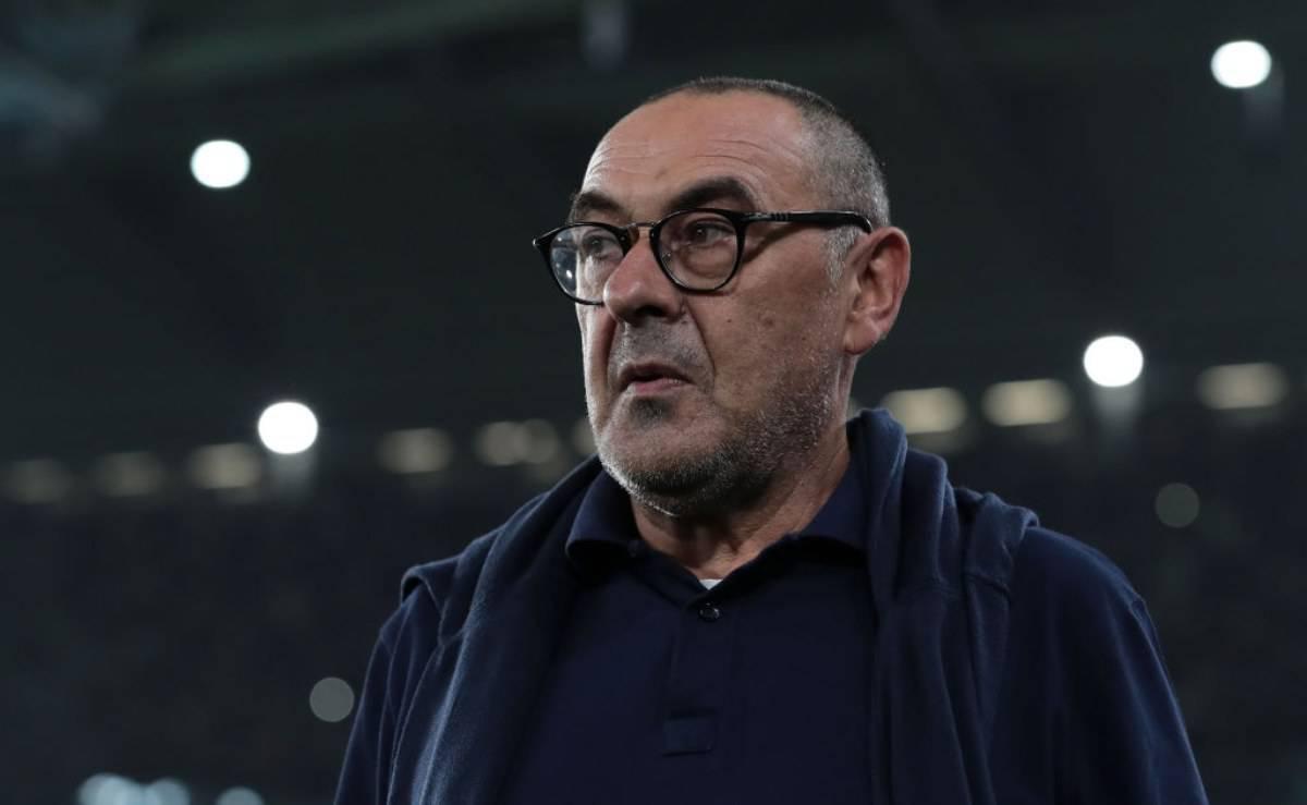 Sarri conferenza stampa Lecce-Juventus