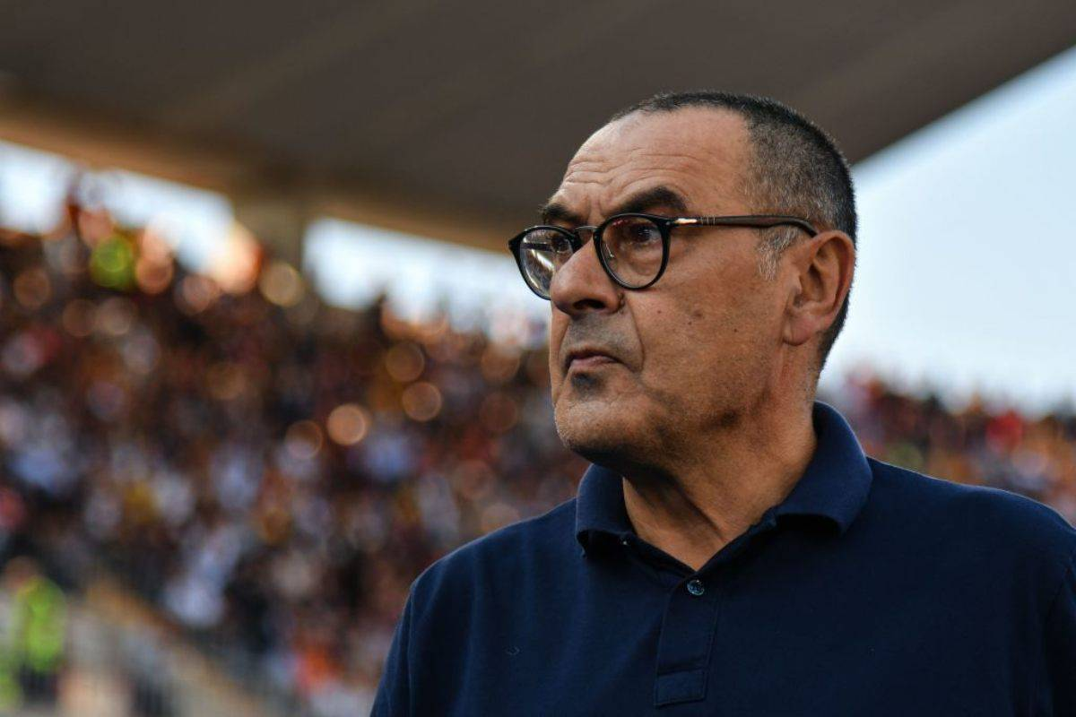 Sarri conferenza stampa Juventus-Genoa