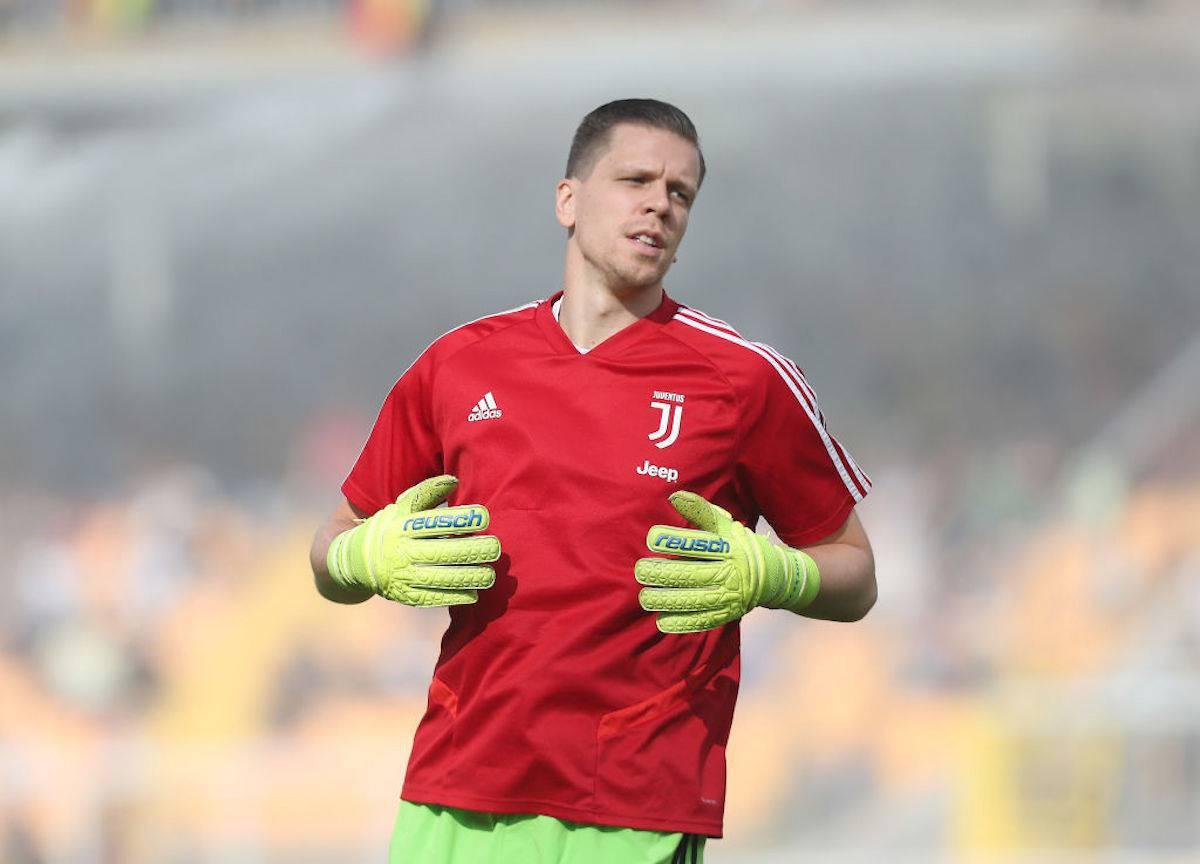 Szczesny in clima derby Torino-Juventus. Ecco cosa dice ai compagni