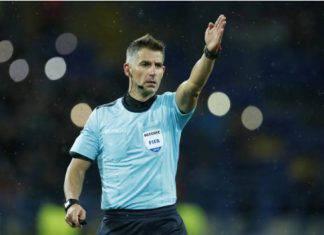 Tasos Sidiropoulos arbitro di Juventus-Lokomotiv Mosca,