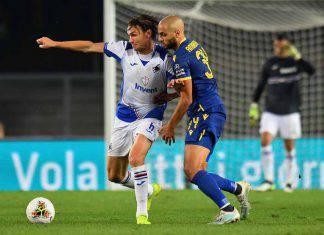 Verona-Sampdoria, tabellino e marcatori