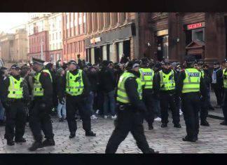 Lazio, saluti romani dei tifosi: tensione a Glasgow