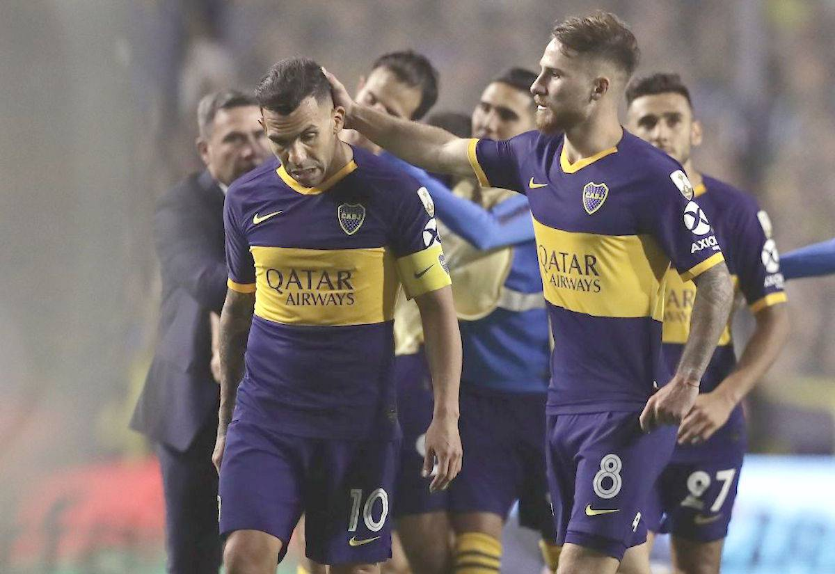 boca juniors tevez