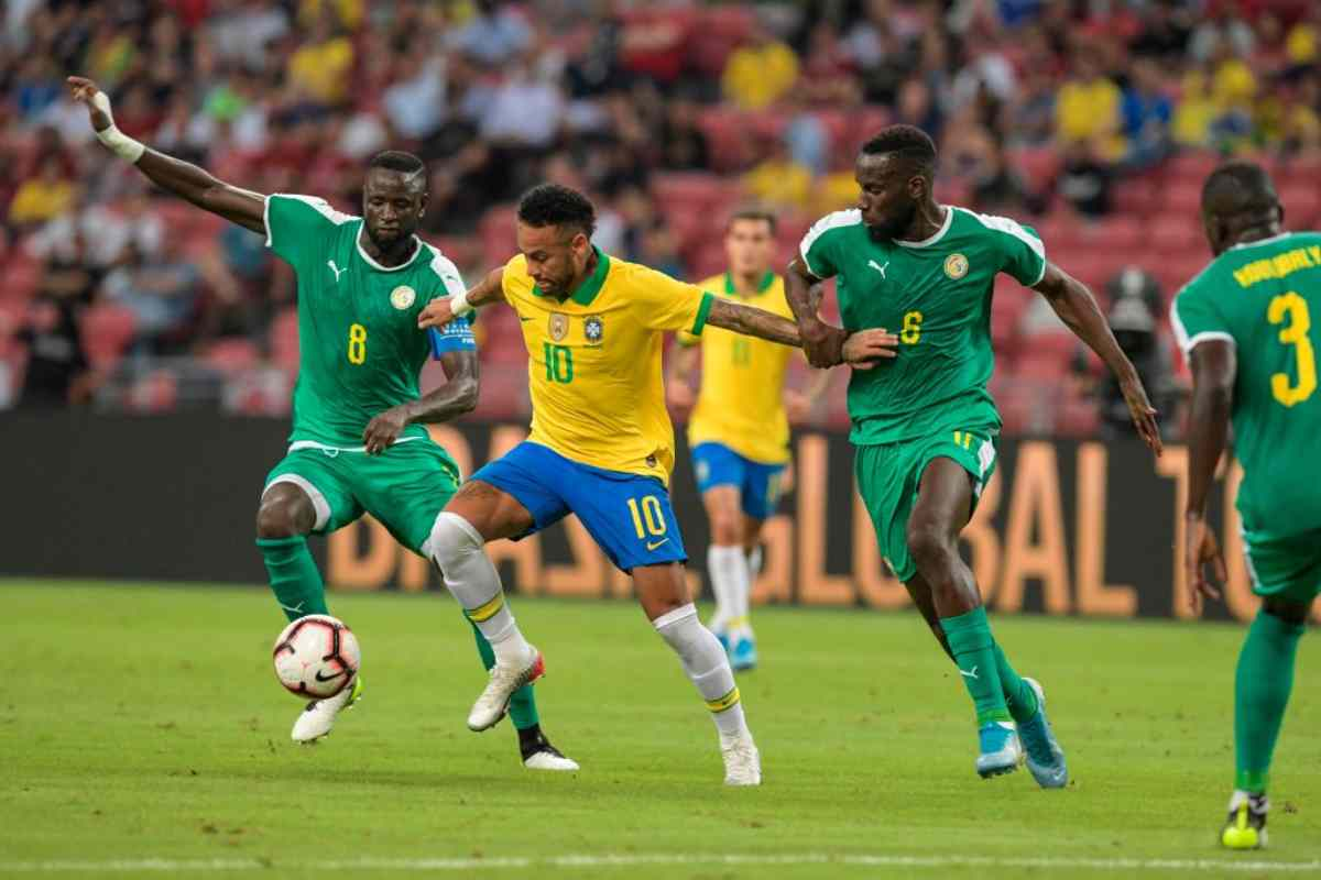 Brasile-Senegal 1-1 in amichevole