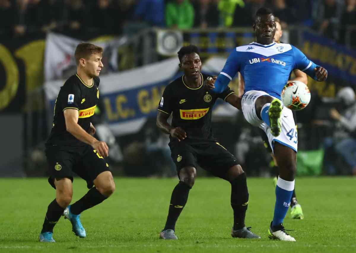 Brescia-Inter, anticipo 10.a giornata Serie A