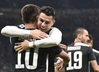 Dybala con Ronaldo