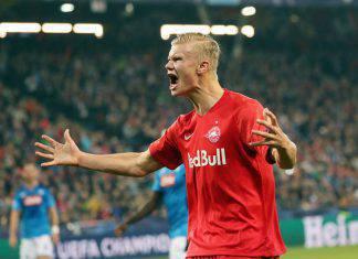 Haaland, maxi offerta del Manchester United per il bomber del Salisburgo