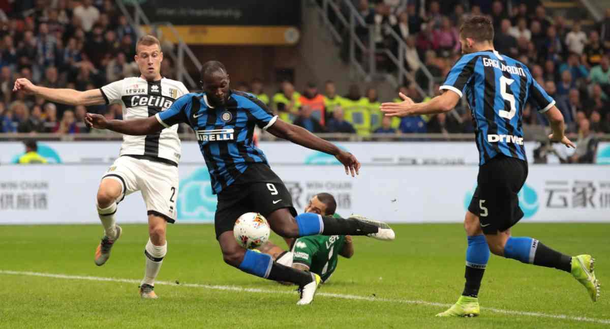 Inter-Parma, match della 9.a giornata di Serie A