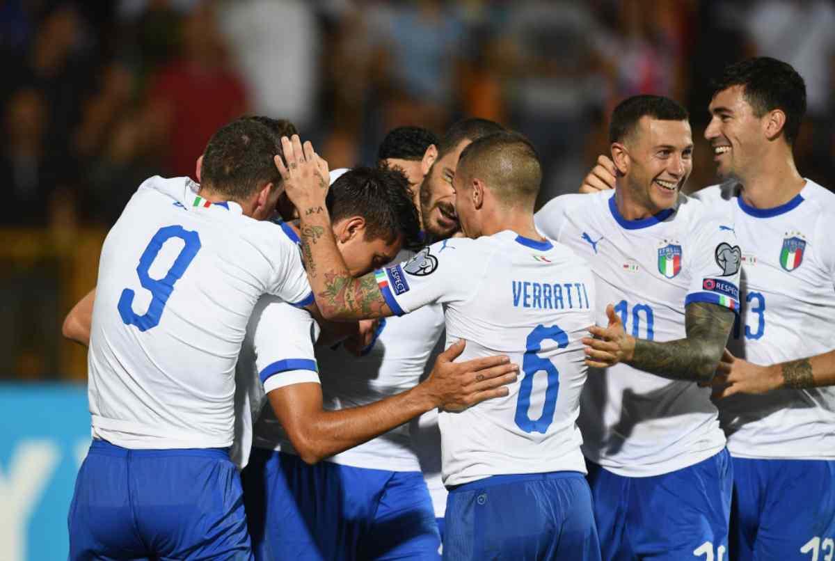 Italia-Grecia, sfida di qualificazione a Euro2020