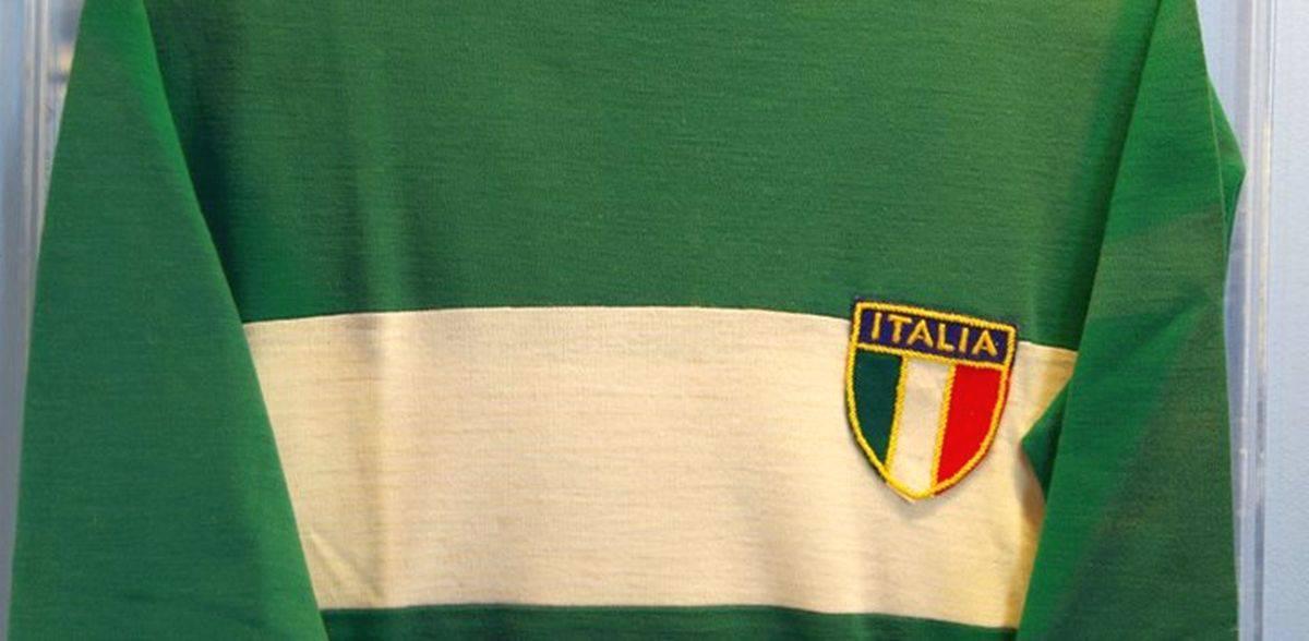 Italia vecchia maglia verde