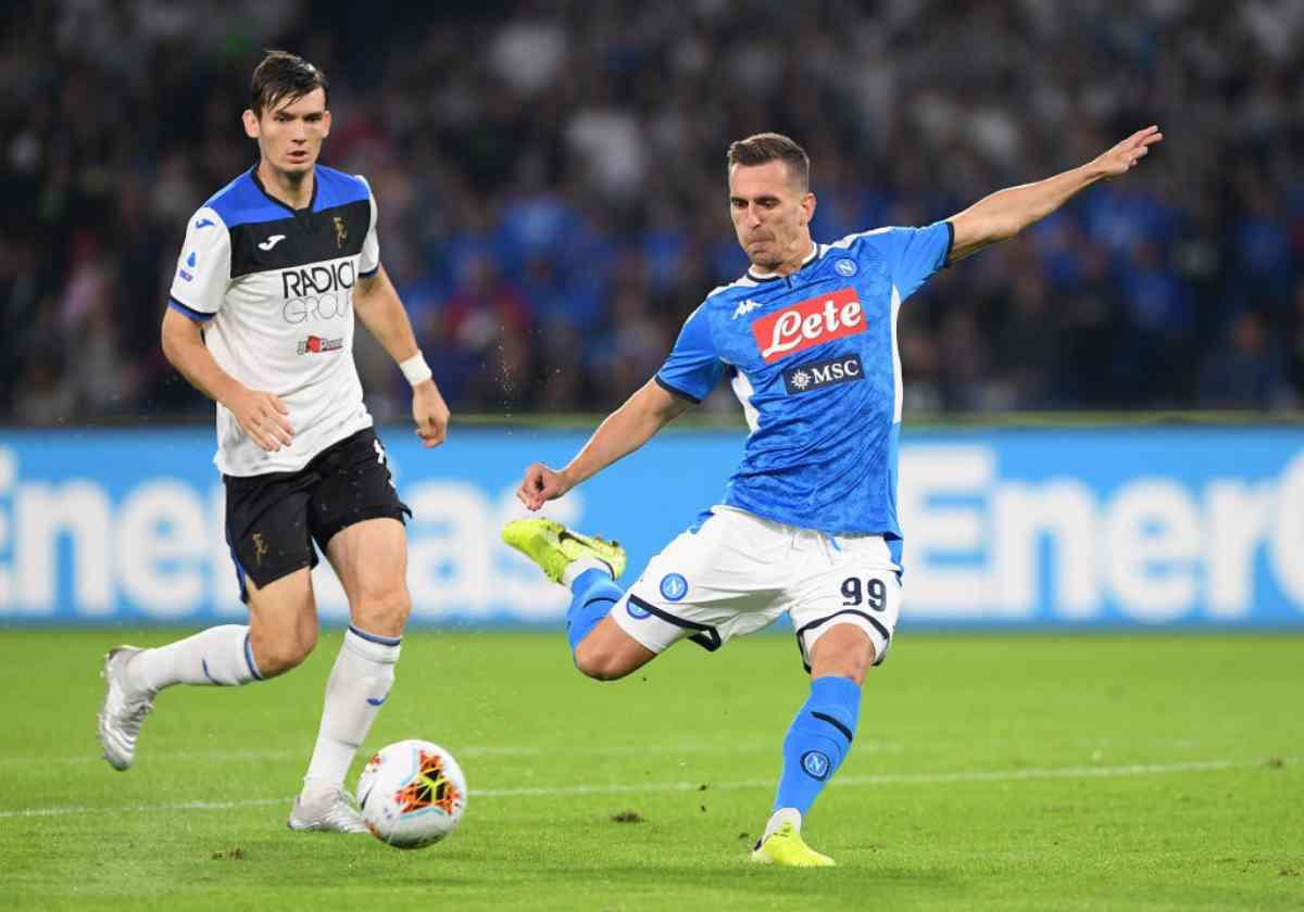 Napoli-Atalanta, 10.a giornata Serie A