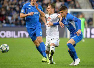 Napoli in campo con il Genk in Champions