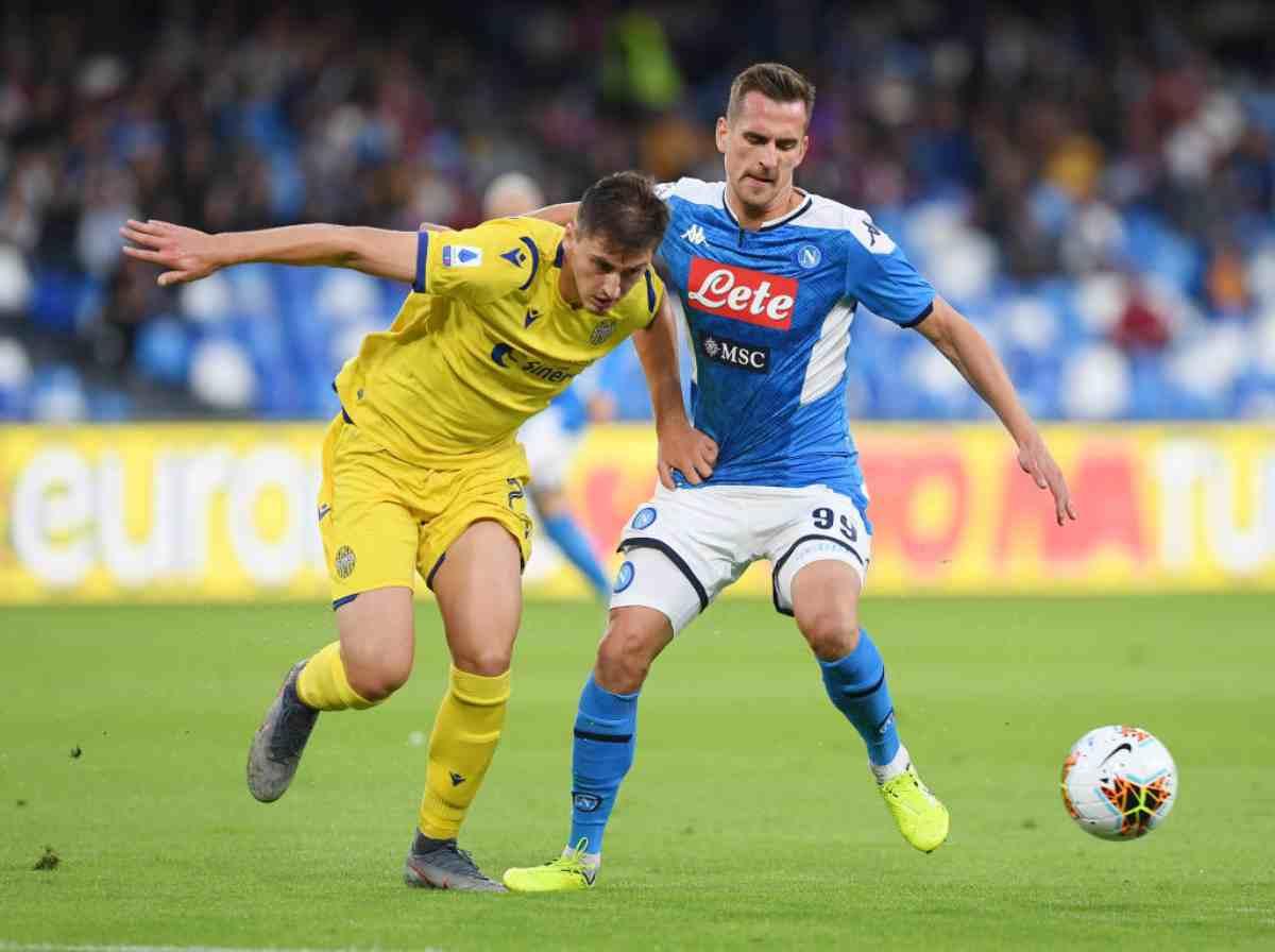 Napoli-Verona, 8.a giornata Serie A