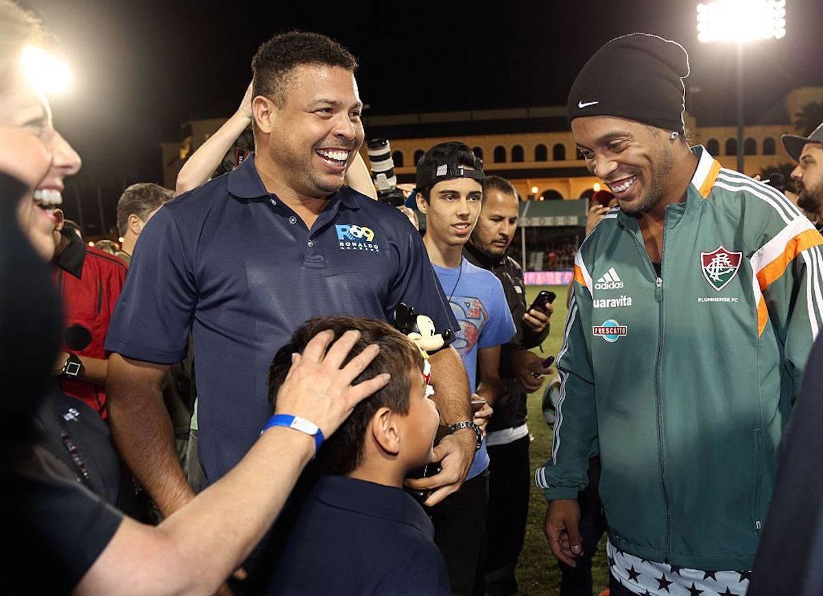 Ronaldo e Ronaldinho