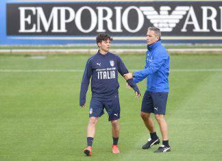 Vignato con Mancini