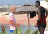 La foto del Daily Mirror di Zidane e Pogba a Dubai