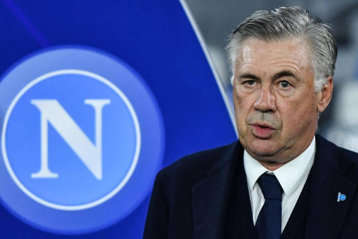 Carlo Ancelotti rompe il silenzio stampa del Napoli