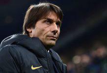 Antonio Conte in conferenza stampa per Torino-Inter