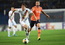 Basaksehir-Roma video gol e sintesi partita