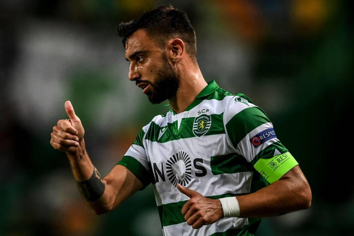 Bruno Fernandes, dall'Udinese alla super clausola con lo Sporting