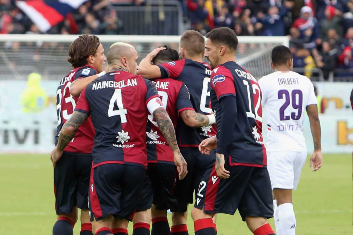 Cagliari-Fiorentina highlights