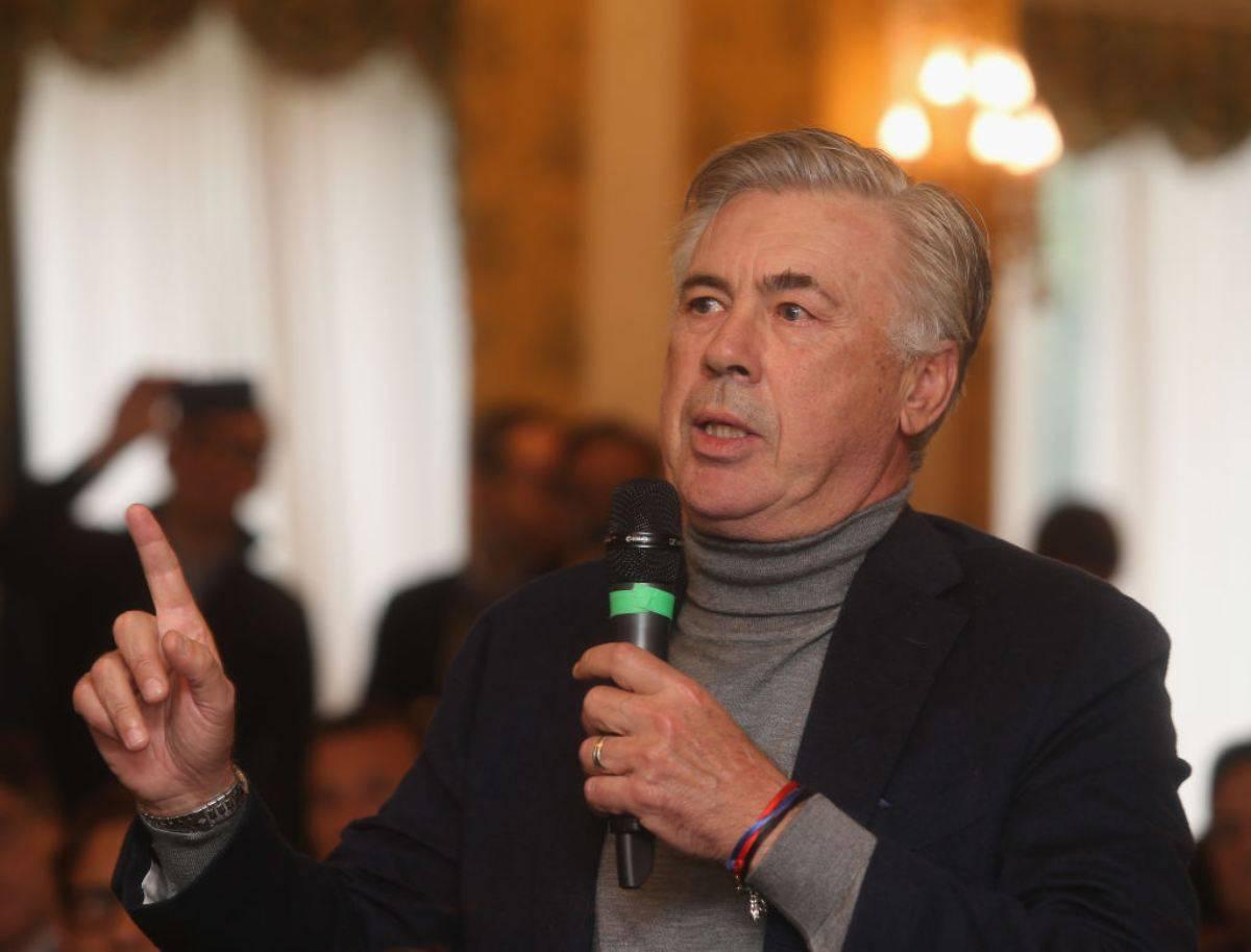 Carlo Ancelotti furioso con Rizzoli